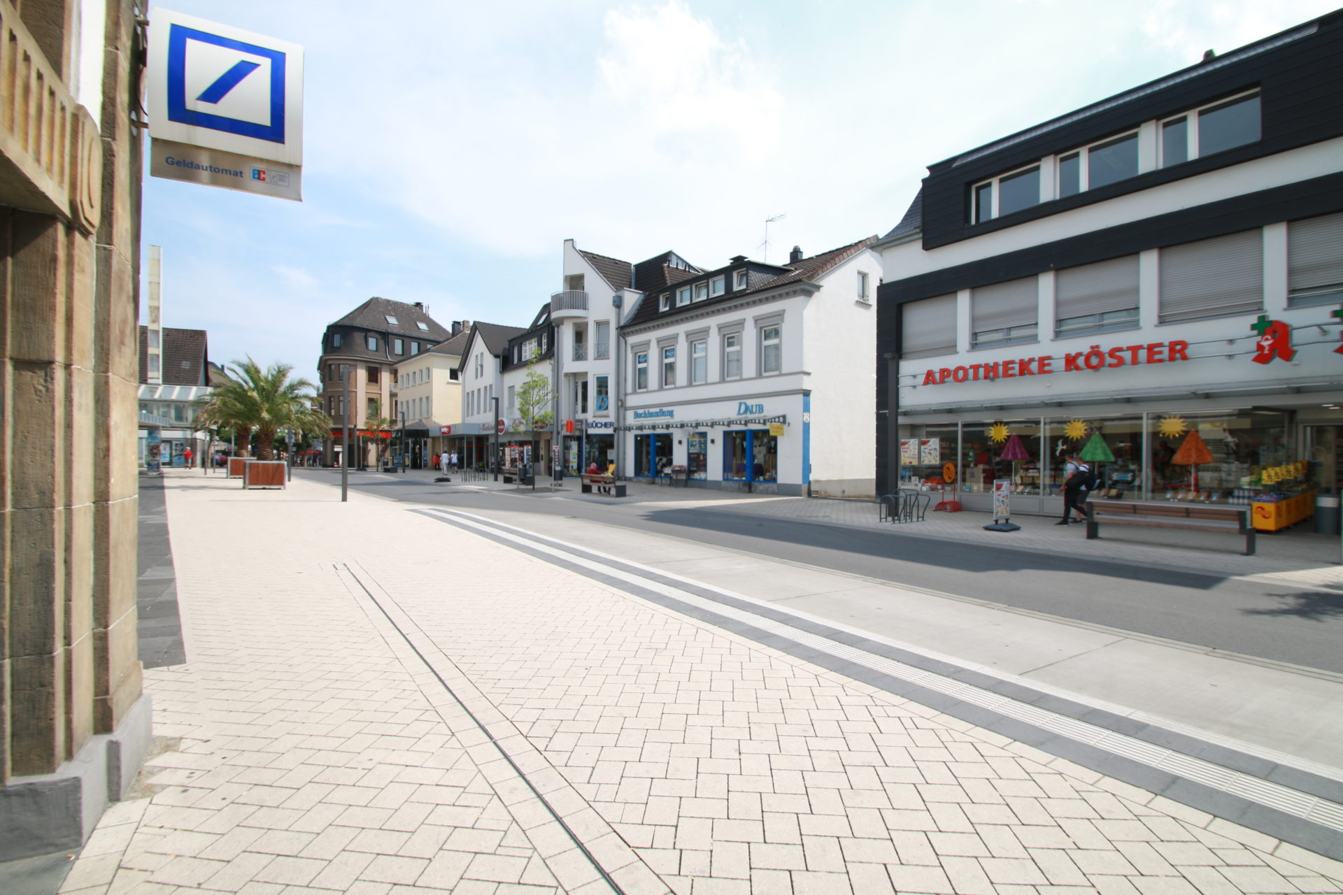 Unnaer Straße / Nordwall heute